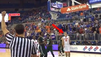 Watch The Unbelievable Moment When A One-Armed Basketball Walk-On For Florida Scores His First Basket