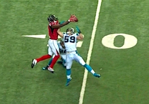 Julio Jones Just Put Luke Kuechly On A Poster With This Amazing 70-Yard TD