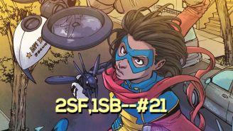 Ms. Marvel returns and 'Gods of Egypt' apologizes – 2 Steps Forward, 1 Step Back