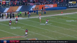 Blaine Gabbert Beat The Bears In OT With This Perfect 71-Yard Bomb