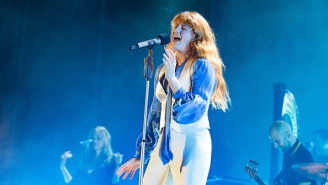 Florence And The Machine Bring Good Tidings & Cheer To Paris With 'All You Need Is Love'