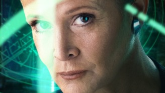 Does this picture prove that Princess Leia has fangirls in-universe in 'Star Wars: The Force Awakens'?