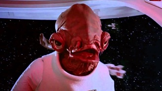 Admiral Ackbar Tapped (Not Trapped) To Return For 'Star Wars: The Force Awakens'