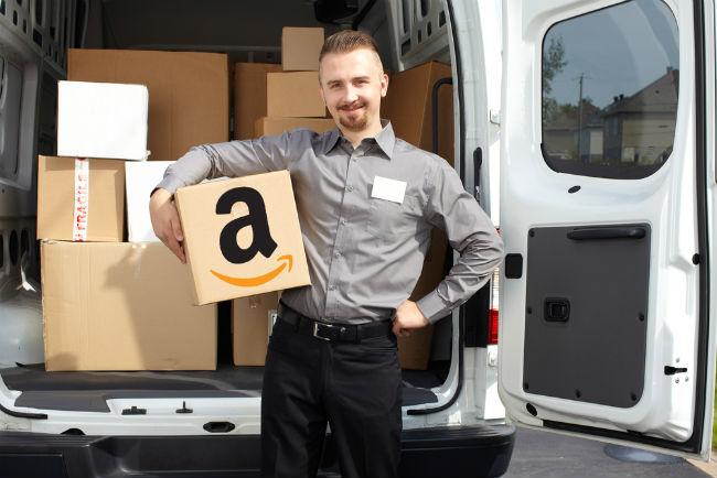 amazon delivery guy