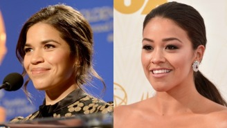 The Golden Globes Blew It On Twitter By Mixing Up America Ferrera And Gina Rodriguez
