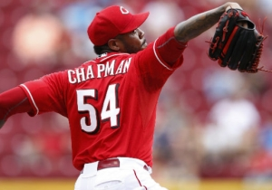 Aroldis Chapman Reportedly Choked His Girlfriend And Fired A Gun During A Domestic Incident