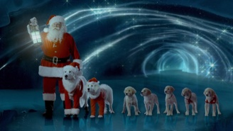 Deep Netflix: 'Santa Buddies' Is A Movie About Air Bud's Puppies Saving Christmas