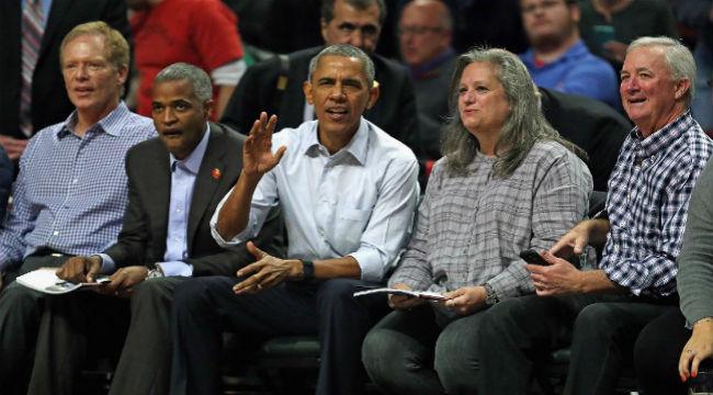 barack obama bulls