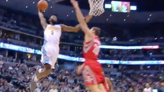 This MASSIVE Facial Dunk By Will Barton Should Make Nuggets Fans Come To Home Games