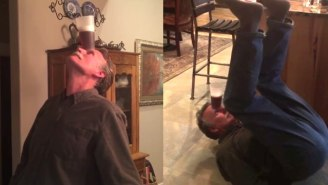 This Grandpa's Slick Beer Yoga Routine Will Make You Long For Nirvana