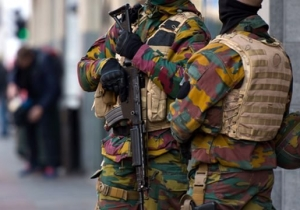 Police Found A Very Interesting Way To Pass The Time During Brussels' Terrorist Lockdown