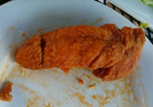 We Need To Talk About This Chicken Finger That Looks Exactly Like A Penis