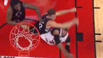 Blake Griffin Gets Ejected For Whacking Taj Gibson In The Face