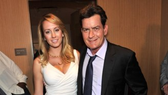 There's Yet Another Bizarre Allegation Involving Charlie Sheen And His Ex, Brett Rossi
