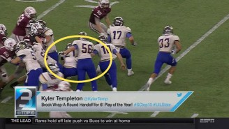Check Out This Awesome Trick Play In The Texas High School State Championship