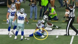 Check Out This Bizarre And Somewhat Confusing Injury From The Cowboys-Jets Game