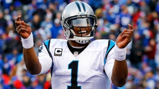 The MVP Is Cam Newton's After His Historic Game Against The Giants