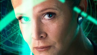 Queen Carrie Fisher gives exactly ZERO cares about body shaming idiots