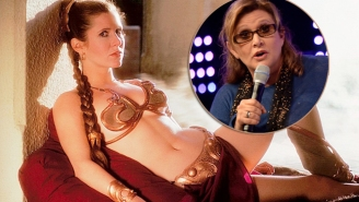 Carrie Fisher Puts An End To The Controversy Over Her 'Star Wars' Slave Bikini