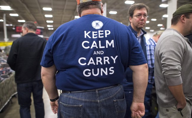 The Nation's Gun Show comes back to the Dulles Expo Center with the first major gun show in the area since the Oregon shooting. This show bring thousands of customers and hundreds of dealers to town.