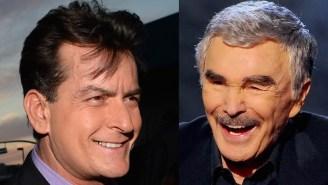 Burt Reynolds Says Charlie Sheen 'Deserves' His HIV Diagnosis