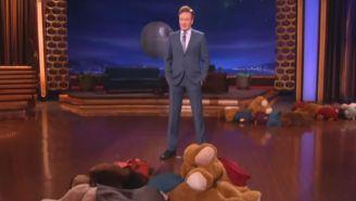 Ewoks Infested The 'Conan' Set Last Night