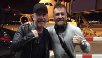 UFC Champ Conor McGregor Made A New Celebrity Fan Out Of U2's The Edge