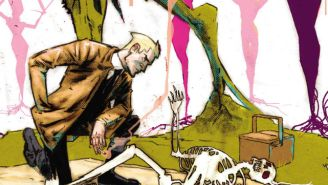 Swamp Thing Crashes Date Night In This Exclusive Preview Of 'Constantine: The Hellblazer'