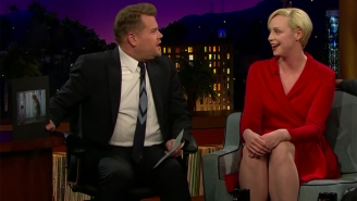 Gwendoline Christie talks about filming 'Game of Thrones' with a real bear