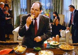 Attention George Costanzas Of The World: Double Dipping Is As Bad As We All Thought