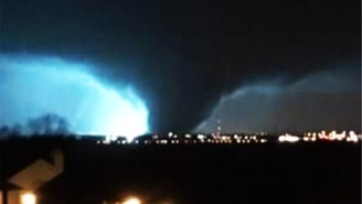 This Texas Stormchaser Was Nearly Stabbed On Video In The Midst Of Saturday's Deadly Tornado