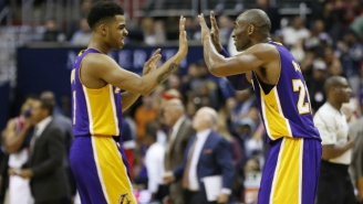 D'Angelo Russell Says He'll Get More 'Opportunities' Playing Without Kobe Bryant