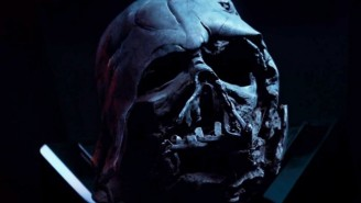 Kylo Ren Is Going To Be Sad When He Realizes That May Not Be Darth Vader's Helmet