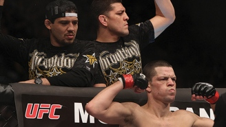 Watch Nate Diaz Get Into A Pre-Fight Scuffle With His Opponent