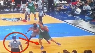 How Did This Glaring Dirk Nowitzki Travel Go Uncalled?
