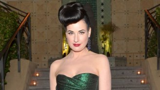 Corset Lover Dita Von Teese Does Not Love The Kardashians' Waist-Training 'Bandwagon'