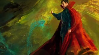 Official 'Doctor Strange' photo has Benedict Cumberbatch working out spell-casting kinks