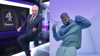 Channel Four's Jon Snow Dance To Drake's 'Hotline Bling' Closes Out The Year On A High Note