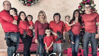 A Nevada Lawmaker Thought It'd Be A Good Idea To Arm A Five-Year Old For A Christmas Card