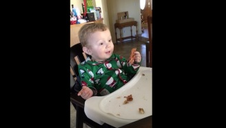 This Kid Eating Bacon For The First Time Is All Of Us