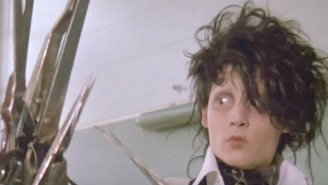 'Edward Scissorhands' Lines For When You Feel Like An Outcast