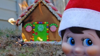 These 'Elf On The Shelf' Memes Will Absolutely Horrify You