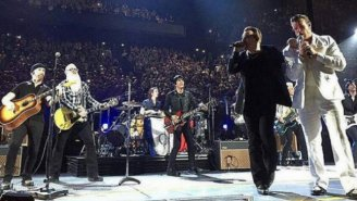 Eagles Of Death Metal Make Their Return To The Stage With U2 For A Performance Of 'People Have the Power'