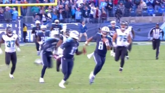 Watch Marcus Mariota Scramble For An 87-Yard Touchdown Against The Jaguars