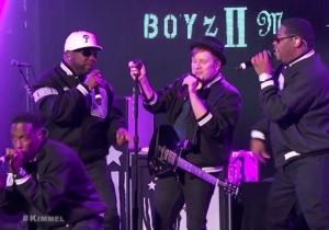 Boyz II Men And Fall Out Boy Teamed Up For A Live Performance Of 'Motownphilly'
