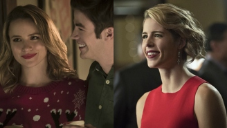 """Felicity and Patty are in trouble in these new """"Flash""""/""""Arrow"""" spring promos"""