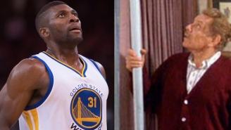 Warriors Big Man Festus Ezeli Wishes You A Very, Very Happy Festivus