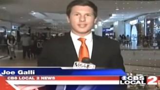 This Reporter Immediately Shames A 'FHRITP' Heckler On Live TV