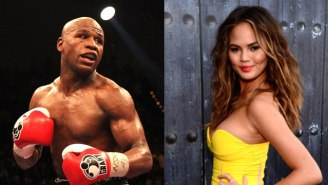 Chrissy Teigen And Floyd Mayweather Are Having The Most Bizarre Internet Feud