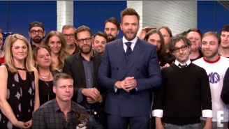 Watch Joel McHale Bid A Heartfelt Farewell From The Set Of 'The Soup'